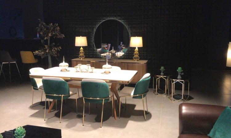 Paris wood yemek odası