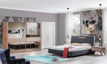 Teka yatak odası