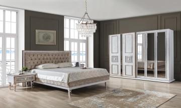 çırağan beyaz yatak odası