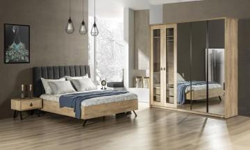 metalika yatak odası