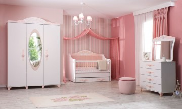 Prenses bebek odası