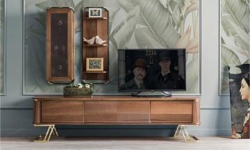 gold tv ünitesi